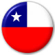 Chile Country Flag 25mm Pin Button Badge